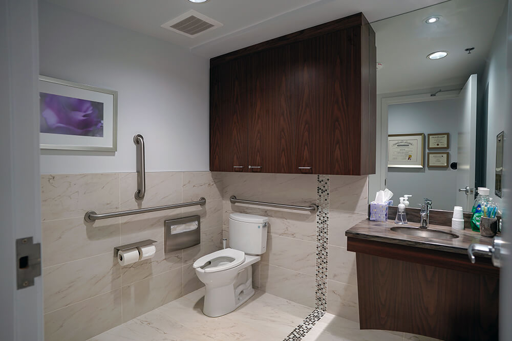 Modern & Accessible Restroom