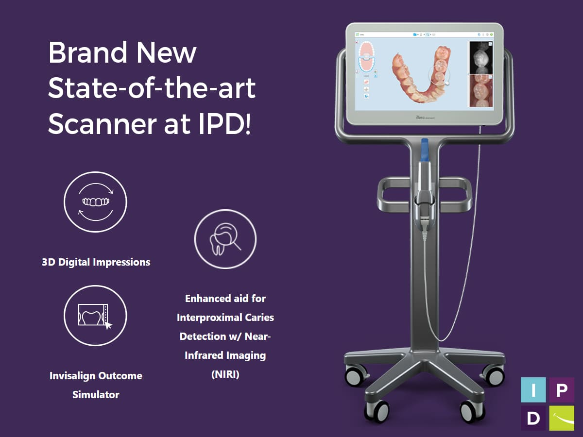 Invisalign high-tech scanner in Issaquah Dental Office